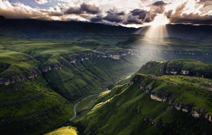 Drakensberg Mountains, Southern Africa