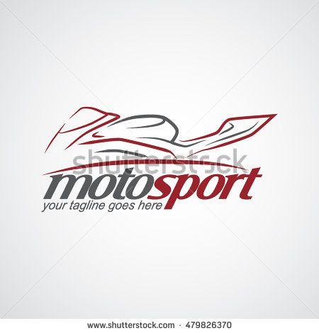 Motosport Logo. Vector Illustration