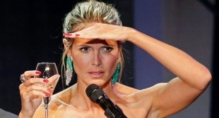 VIDEO: Topless Protestors Audition For Heidi Klum During Live Germany's Top Model Show