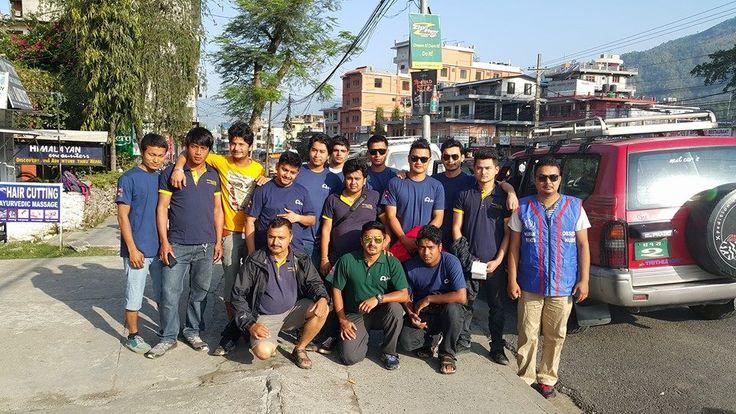Our fantastic Nepali team!  #GVI #NepalEarthquake