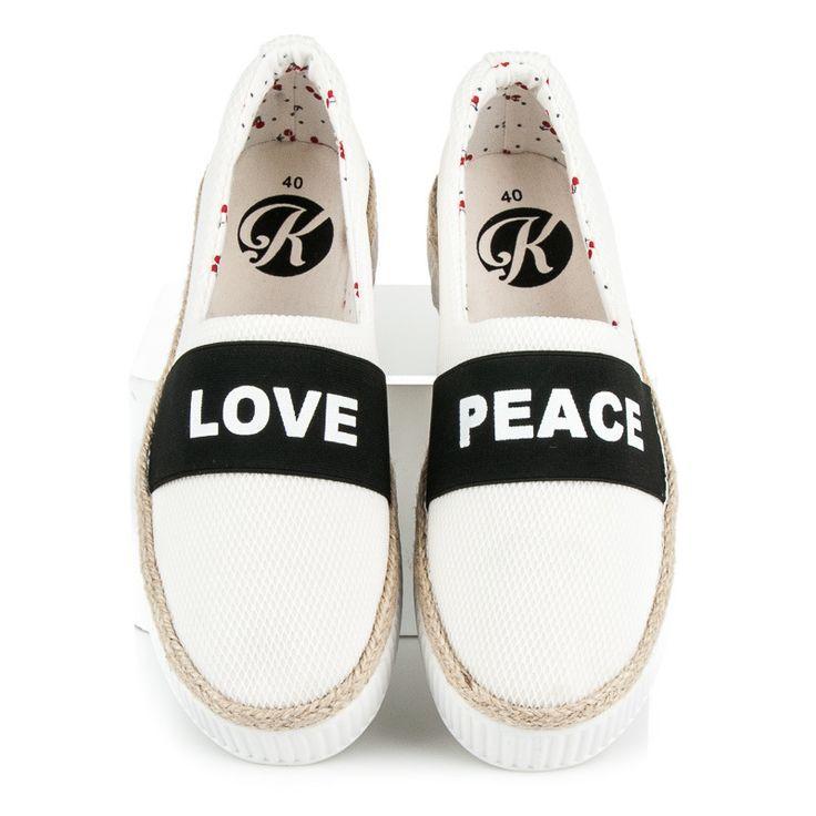 ESPADRYLE LOVE & PEACE