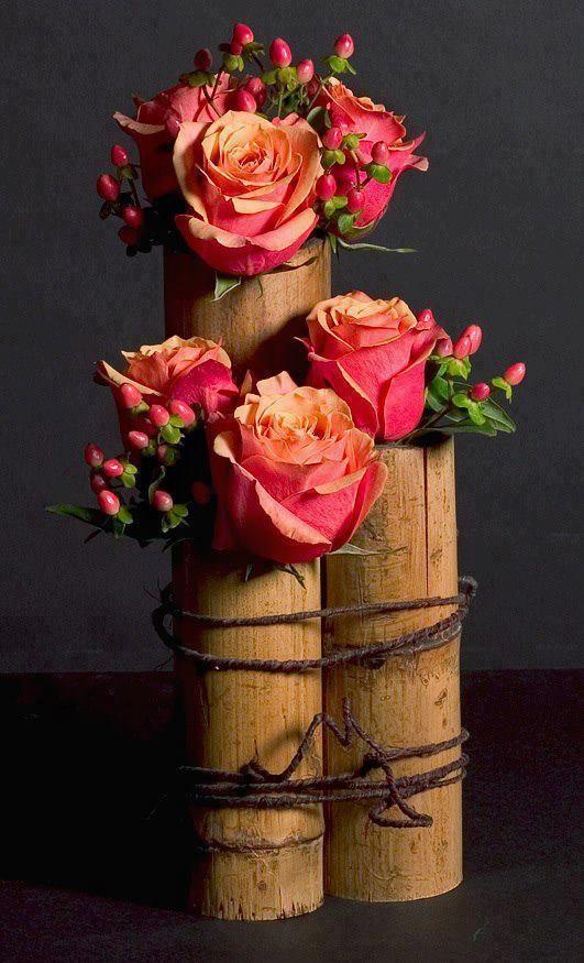 a fun arrangement in Bamboo