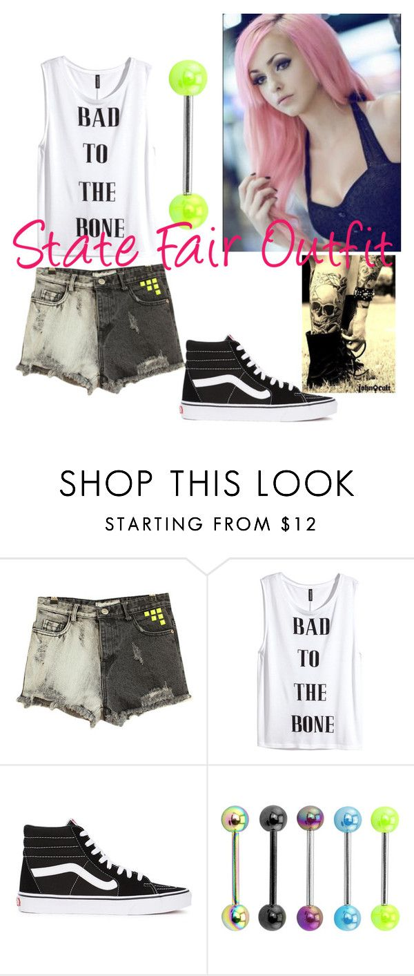 """New York State Fair Outfit"" by lavithenekogirl ❤ liked on Polyvore featuring H&M and Vans"