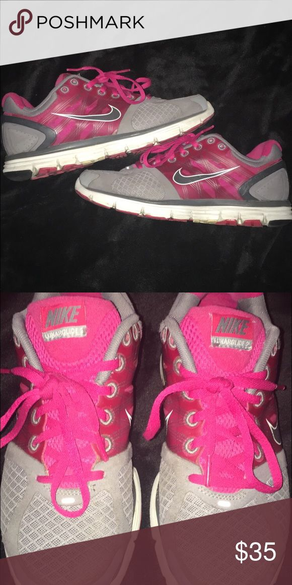 Nike Lunarglide 2 only worn about 8 or 9 times Nike Shoes Athletic Shoes