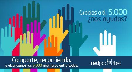 Gracias a ti, 5.000 :: Redpacientes