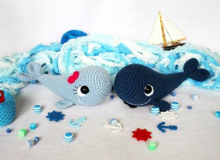 Kijk wat ik gevonden heb op Freubelweb.nl: een gratis haakpatroon van Amigurumi Today om deze leuke walvisjes te maken https://www.freubelweb.nl/freubel-zelf/gratis-haakpatroon-walvis-2/
