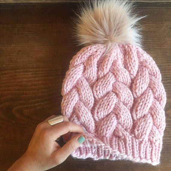 KNITTING PATTERN ONLY Digital PDF download Includes standard American knitting instructions and cable chart for added guidance Cables, cables cables! This is a knitting pattern for the advanced-beginner or intermediate knitter. Finished product fits the average size womans head. The fit of this hat should be fitted to slightly slouchy depending on your yarn selection and knitting tension. No returns for digital downloads Please do not copy, share or sell this pattern. Finished products ar...