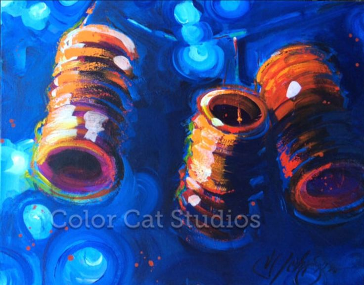 #chinese #lanterns for sale. Colorcatstudios101.etsy.com #lantern #chineselantern #chinesefestival #paperlanterns