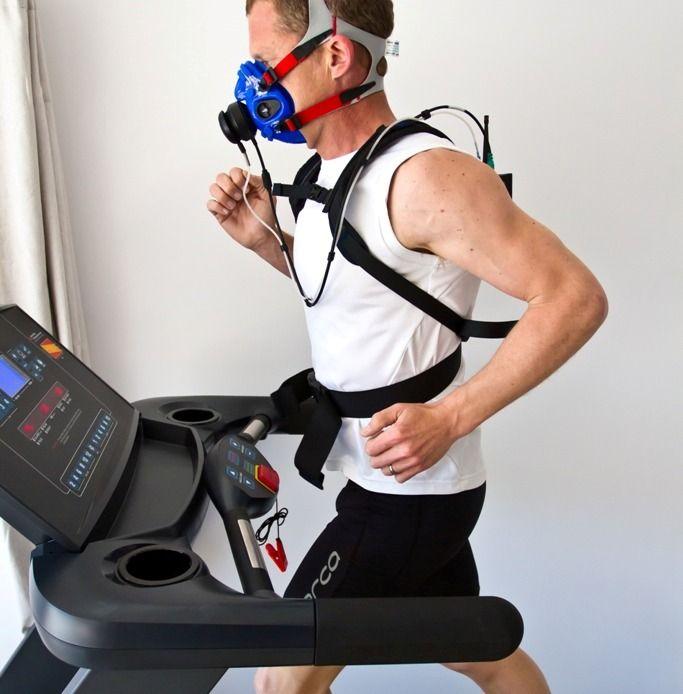 Spiroergometrie für Radfahrer mit Cosmed K5