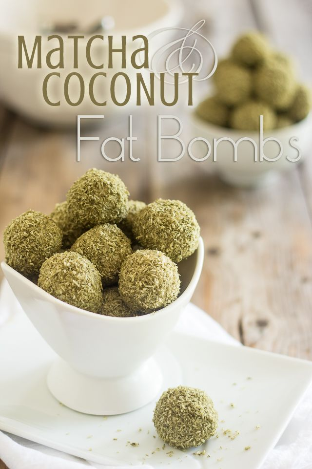 Matcha Coconut Fat Bombs by @soniathehealthyfoodie thehealthyfoodie.com #paleo #nutfree #aipaleo #aip