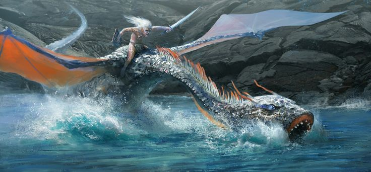Concept art of a dragon rider #conceptart #dragon #rider #warrior #tribal #tattoo