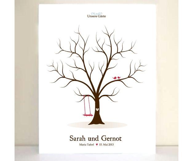 9 best images about wedding tree on pinterest trees fingerprints and wedding. Black Bedroom Furniture Sets. Home Design Ideas