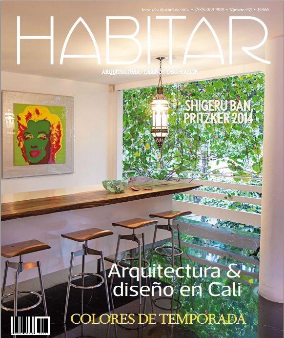 Arquitectura y diseño en Cali, Colores de temporada. Edición 257. 24 de Abril de 2014.
