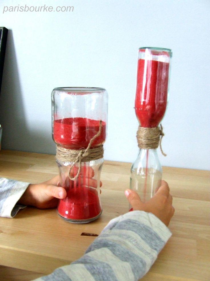 Sablier diy Hourglass2
