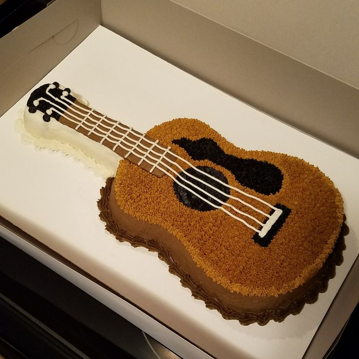 Acoustic Guitar Cake Images : Best 25+ Acoustic guitar cake ideas on Pinterest Guitar ...