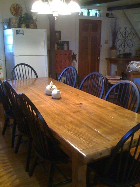 Our table made out of new cypress. 24 best cypress furniture images on Pinterest