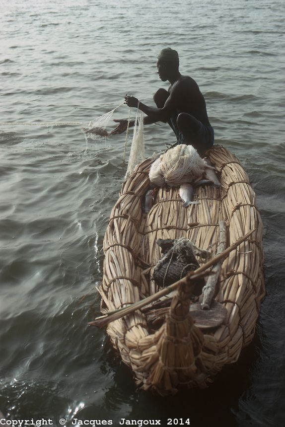 chad africa pictures | Africa, Sahel region, Chad, Islands of Lake Chad. Kanembu fisherman in ...