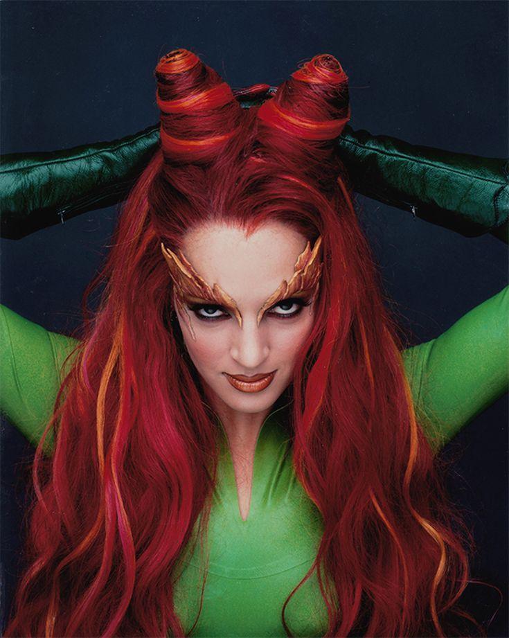 Poison Ivy (Uma Thurman) hair