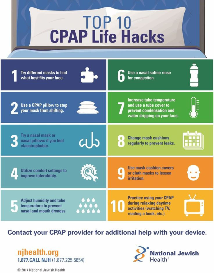 how to get cpap marks off face