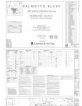 Palmetto Bluff - Moreland Block L Final Development Plan - Site Development Plans