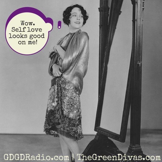 Self love looks good on me!-1