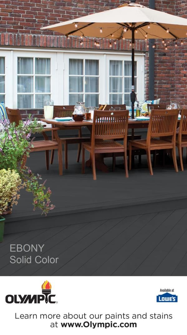 Ebony Exterior Wood Stain Colors Deck Paint Solid Stain Colors