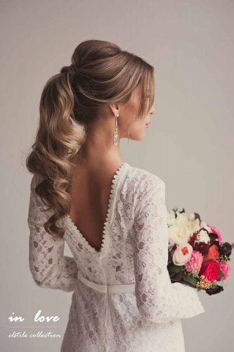 18 Bride's Favourite Wedding Hairstyles For Long Hair | Page 2 of 4 | Wedding Forward