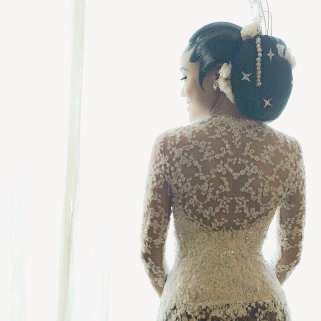 The whole reason why I set up this account was to help my best friend planning her wedding. Searching and reviewing all wedding designers, collecting inspiration and finally she found her dream designer.  Check out my best friend's kebaya for her akad nikah ceremony, beautiful back details right?  Bride : @nadiatusin Kebaya: @saptodjojokartiko  Make up: @adiadrian_ds  @thebridebestfriend 's version of best brides for 2014!