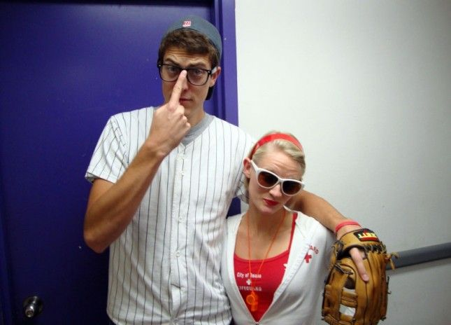 Squints and Wendy Peffercorn halloween 2014 hell yeah 25 Genius DIY Couples Costumes via Brit + Co.