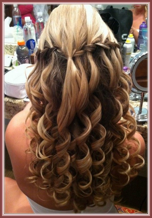 Pictures Of Half Up Half Down Wedding Hairstyles For Long Hair Idea
