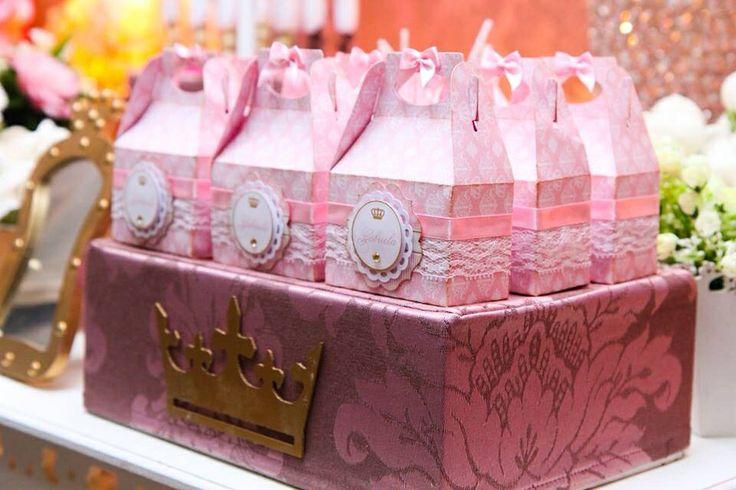 Caixinha personalizada Princesa