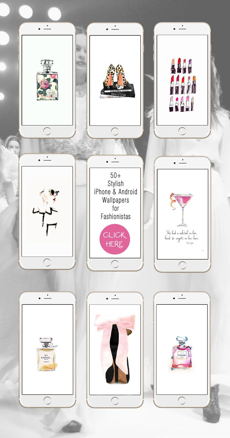 50+ iPhone Wallpapers for Fashionistas ★ Make sure to follow us on @prettywallpaper