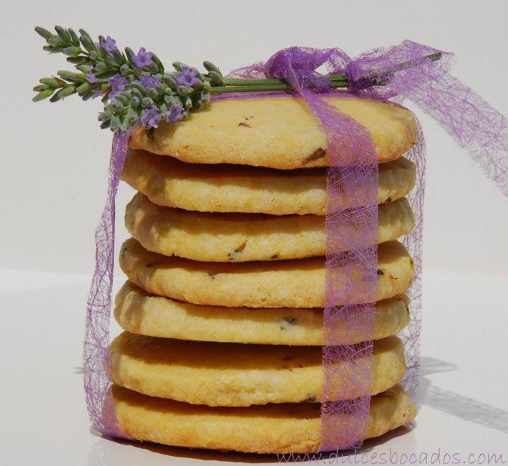 Dulces bocados: Galletas de mantequilla con lavanda