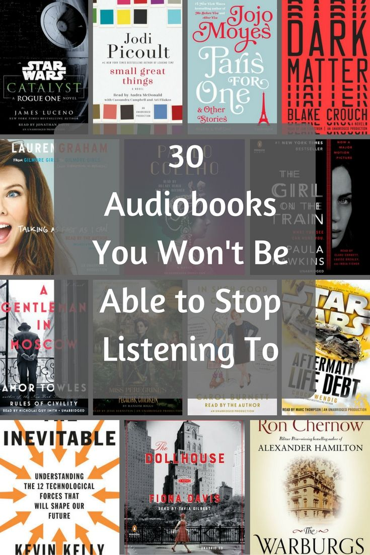 Some our favorite audiobooks of the year (so far)!