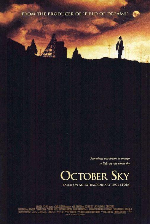 October Sky Movie Poster - Internet Movie Poster Awards Gallery