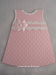 Baby Dress card (Pink Pirouette), Baby Dress card (Pink Pirouette)