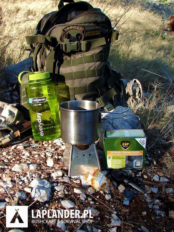 Kuchenka składana Boilex Pyramid Stove na paliwo ZIP Military paliwo zip military kuchenka turystyczna kuchenka survivalowa boilex