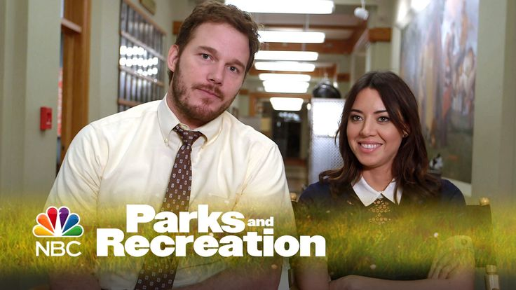 The fact that this video made me cry <3 Parks and Recreation - April and Andy (Behind The Scenes)