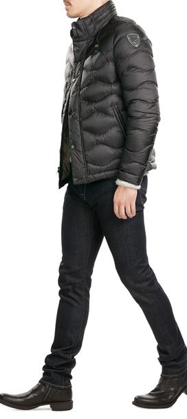 Blauer's+puffed-up+down+jacket+is+quilted+for+an+enveloping+feel.+The+rich+color+makes+it+effortless+to+pair+and+flattering+#Stylebop