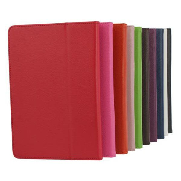 Litchi Pattern Leather Pouch Case With Folding Stand For iPad Mini…