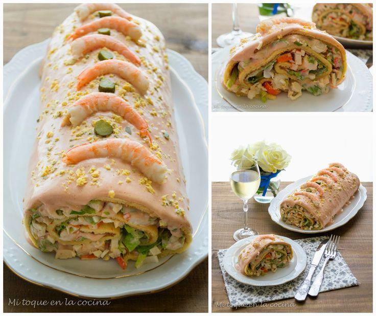 Mi toque en la cocina: Brazo gitano de marisco
