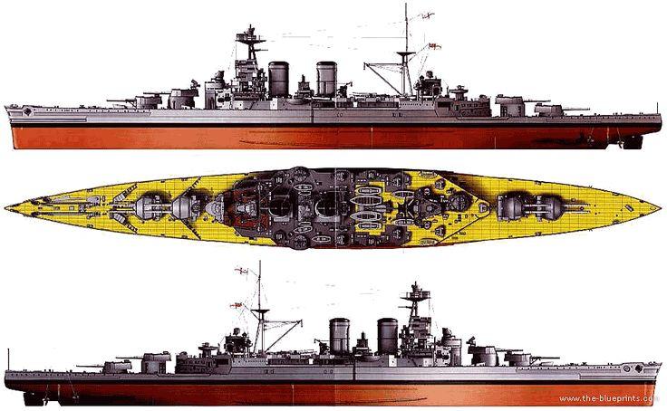 HMS Hood (Battlecruiser) (1940)                                                                                                                                                                                 More