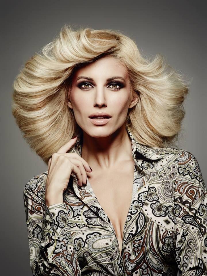 Evaggelia Aravani Close Up magazine Hair + make-up by Panos Kallitsis