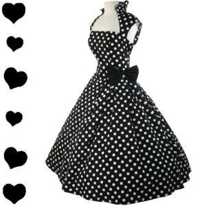 This is AWESOME!: Full Skirts, Polka Dots Dresses, Bridesmaid Dresses,  Chains Armors, Skirts Swings, Swings Dresses, Polkadots, Rockabilly Dresses, Vintage Style