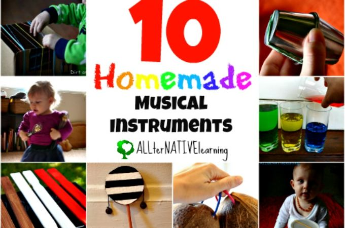 Homemade musical instruments are a way to get kids involved in the process of open-ended play. Whether they are involved in the steps it takes to make the musical instrument or not, the creativity in making ordinary objects part of music helps them see the world a little differently. In fact, knobby puzzle pieces have...Read More »