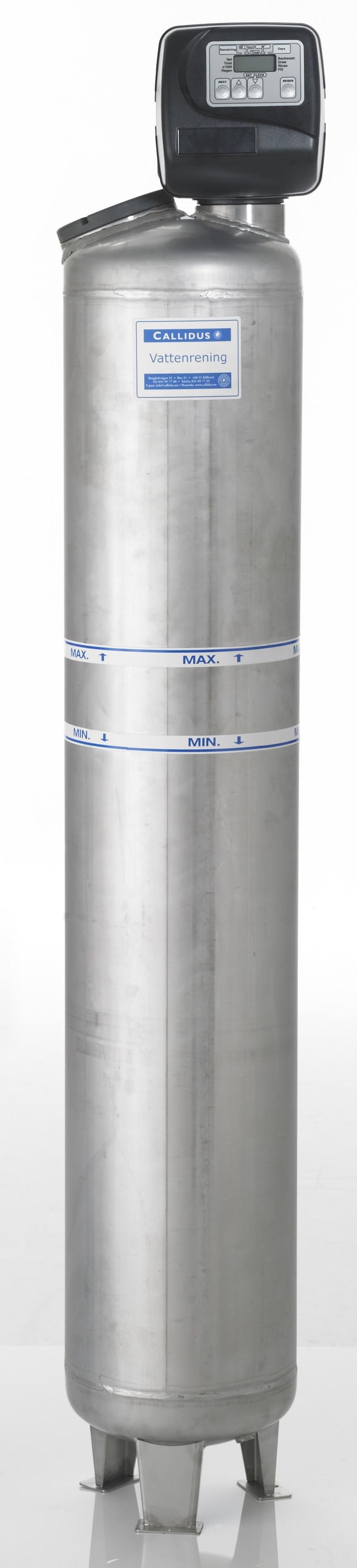 Rostfritt vattenfilter #vattenrening