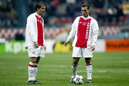 ~ Rafael van der Vaart and Wesley Sneijder on AJAX AFC ~