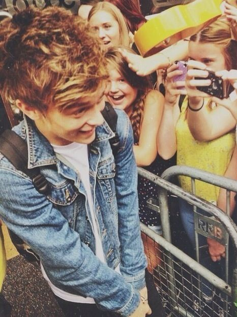 Connor Ball aaw hes soo cute when hes shy