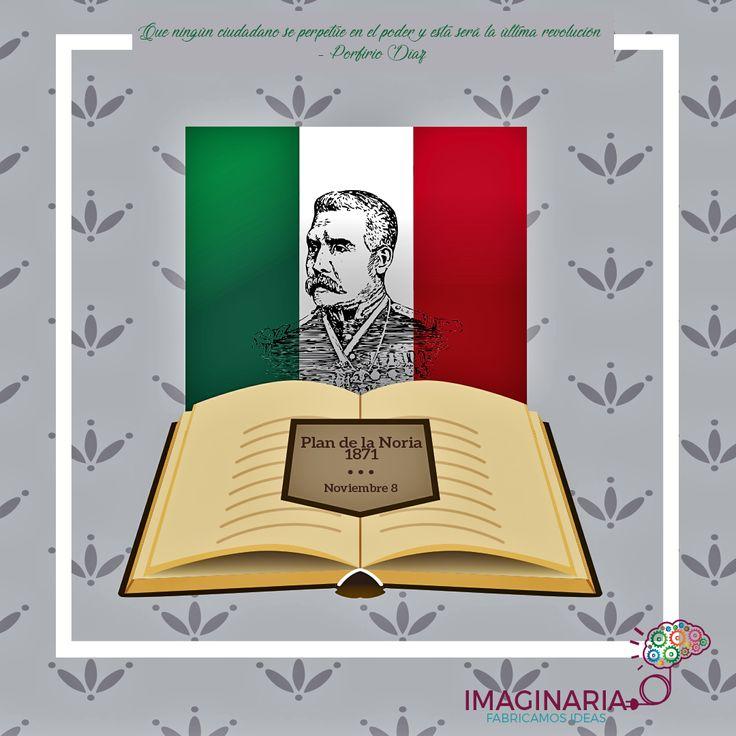 Hoy se celebra en México el día que Porfirio Díaz promulga el plan de la Noria