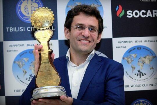 Aronian é o Campeão da Copa do Mundo de Xadrez 2017 | Rafael Leitão